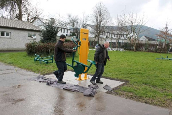 6Town Park Outdoor Gym Equipment Launch 2015 -800
