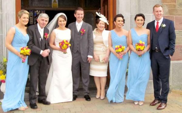 13The Wonderful Wedding of Catríona & John 28 March 2015 -800