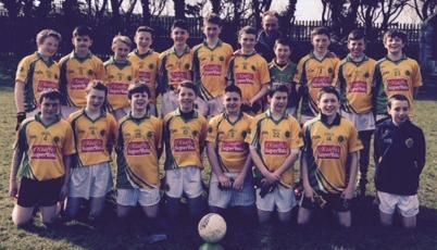 2015-03-14 Duarigle Gaels in action in today's Feile Peil. U14's