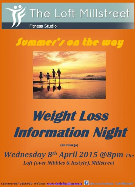 2015-04-08 The Loft - Weight Loss Information Night 02