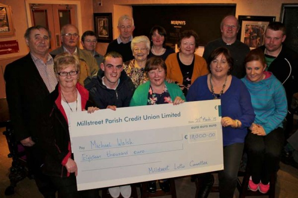 At the recent AGM of Millstreet Lotto it was revealed that €90,000 within the past years was equally distributed between Millstreet Town Park, Millstreet GAA and Millstreet Youth Amenity Fund as well as €39,260.00 given out in prizes - Now that's seriously impressive!  Well done to the inspiringly dedicated Millstreet Lotto Committee.