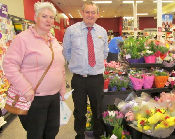 Mother's Day 2015 and its exquisite floral displays truly impressed customers at Supervalu.