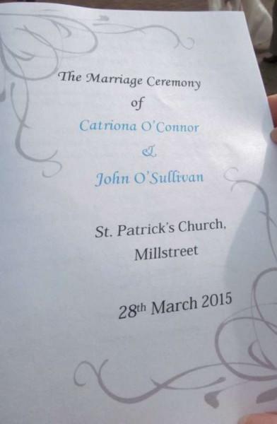 6The Wonderful Wedding of Catríona & John 28 March 2015 -800