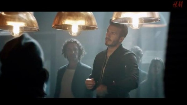 "JD Kelleher, Actor supreme (in centre) with David Beckham features in a ""H & M"" ad currently on television.  The link for the ad is https://www.youtube.com/watch?v=mxt-Virtdek .  JD is such a wonderfully loyal listener to ""Radio Treasures"" on Tuesday nights on www.corkmusicstation.com and he shares the most humorous, witty and most interesting comments on our Facebook chatline during the programme.  Continuing success to JD.  Click on the image to enlarge.  (S.R.)"