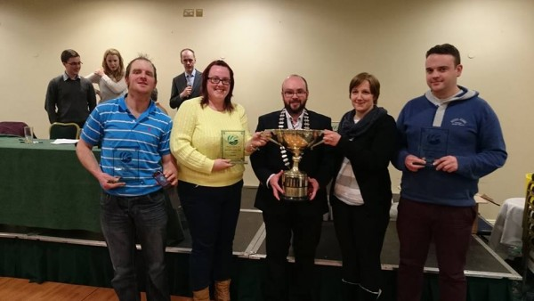 Well done Niamh O'Mahony Rebecca Ambrose James Buckley and Eoin O'Sullivan on bringing the club our second National title in Club Question time!!! Well worth the trip to Drogheda — at Boyne Valley Hotel & Country Club.