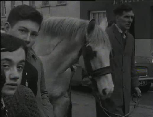 1965 Horse Fair - (02.19) Seán Radley on the left