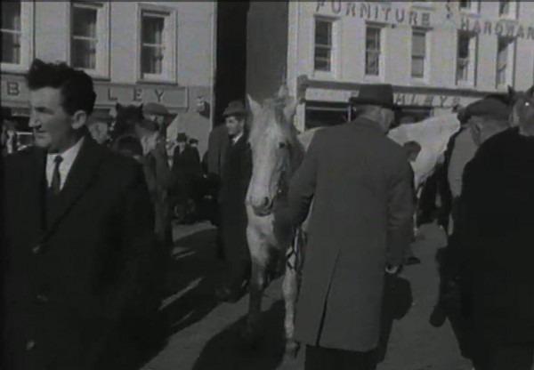 1965 March Horse Fair - an RTÉ Newsbeat report 07 - Buckleys Stores