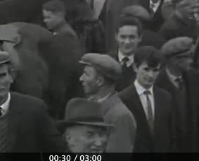1965 Spring Horse Fair - Brendan Kiely, and is that joe hickey, Killarney Rd in front of him