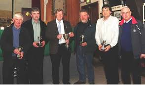 2014 Millstreet Scór Sunsear Question Time team - Pat Sheehan, Jerry Doody, Liam Flynn, and John Tarrant