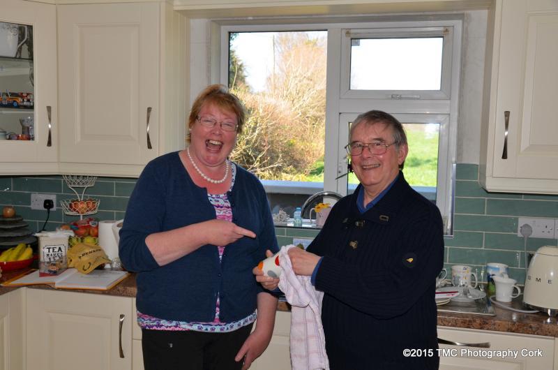 2015-04-08  Russell & Julia Brookes visit the home of John P & Eileen Kelleher 05
