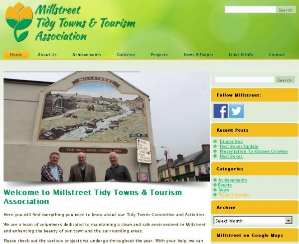2015-04-30 The new Tidy Towns website - how it looks