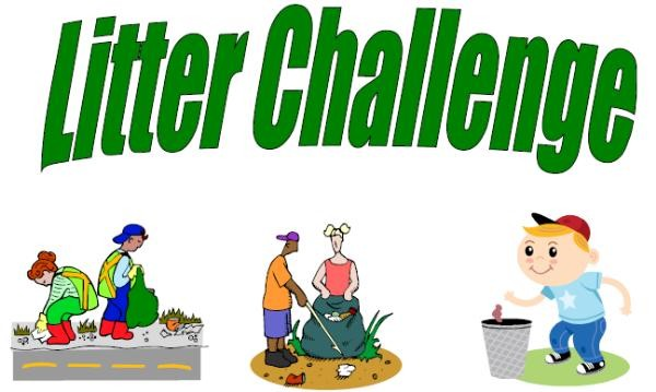 2015-04 Anti Litter Challenge - poster header