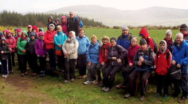 Many thanks to Colman Culhane for sharing his picture of the energetic Walkers who participated in the Clara Loop Walk at the weekend's Millstreet Walking Festival 2015.  Click on the image to enlarge.  (S.R.)