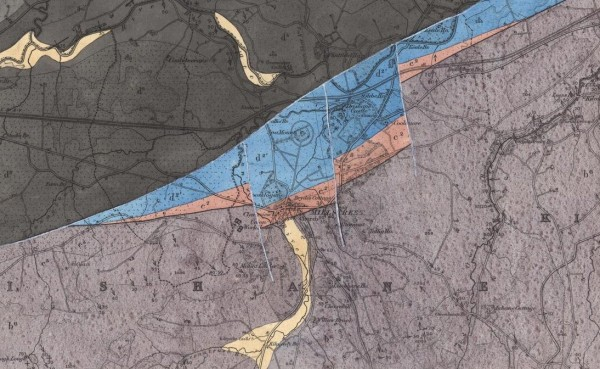 1882 Geological Survey of Millstreet - map