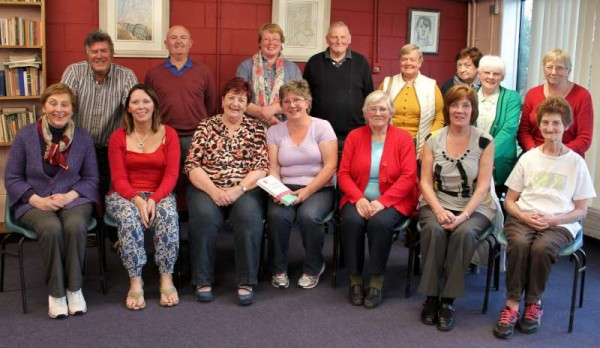 Some of the many participants who have been attending a truly excellent Arthritis Workshop at Millstreet Community School for the past five Thursdays.   The superb coordinators (seated third and fourth from left) Marie and Josephine from the Kingdom of Kerry have shared hugely helpful hints, suggestions, action plans and provided such an optimistic approach to the management of Arthritis.  The overall Workshop - one of many which occur throughout Ireland is under the auspices of Arthritis Ireland Foundation.   Very special word of thanks to Marie and Josephine and also to Margaret Crean of Millstreet who has motivated the establishment of the   most useful Workshop in Millstreet.   The Workshop concludes this coming Thursday.   Click on the image to enlarge.  (S.R.)