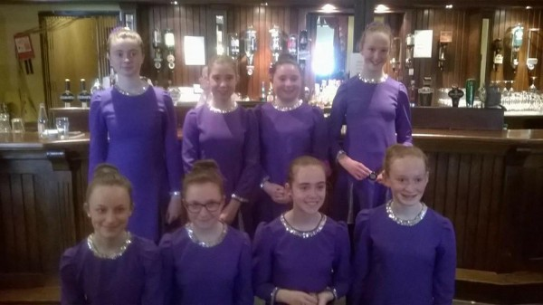2015-05-03 The Millstreet purple set who finished 2nd, and progress to the Munster Finals