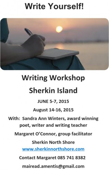 2015-05-07 Write Yourself - Sherkin Island Workshop- poster