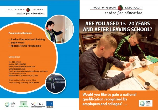 2015-05-14 Youthreach Macroom - Brochure 01