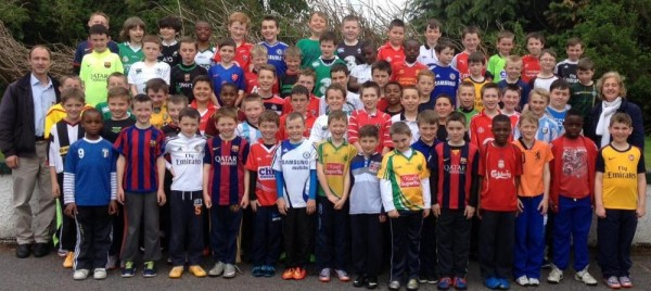 2015-05-15 Millstreet BNS Jersey Day to raise funds for earthquake relief in Nepal