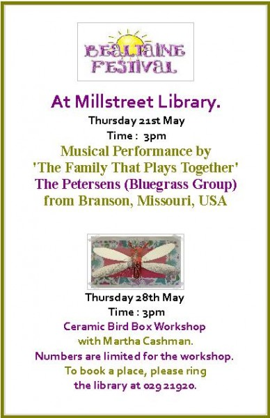 2015-05-21-28 Bealtaine Festival events at Millstreet Library - poster