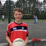 2015-05-21 Darragh Cashman who has been chosen in the Cork NS football team to play at half time in the Cork v Limerick Munster Semi on June 14th