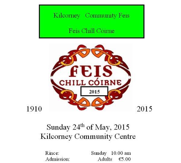 2015-05-24 Kilcorney Feis - poster
