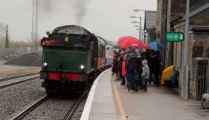 5Steam Train Visits Millstreet 10th May 2015 -800