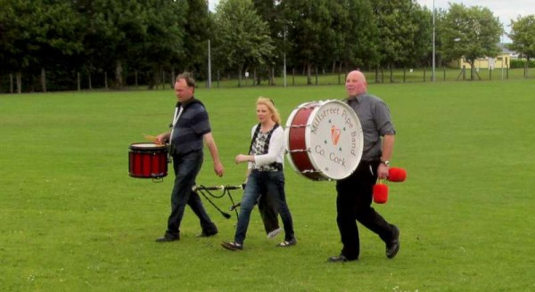 1Millstreet Pipe Band Practice Time for Munster Final 2015 -800