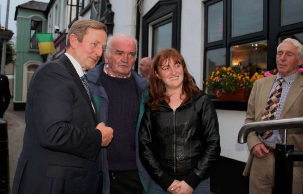 1Taoiseach Enda Kenny in Millstreet 12th June '15 -800