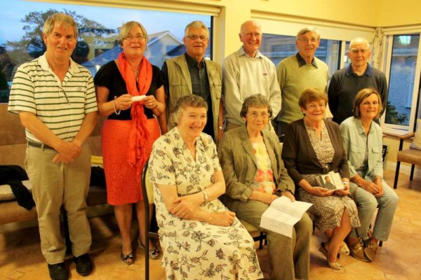 "Some of the many people who attended Joan Kennelly's magnificent musical presentation where the focus was on a ""Flower"" theme at the June meeting of Millstreet Gramophone Circle."