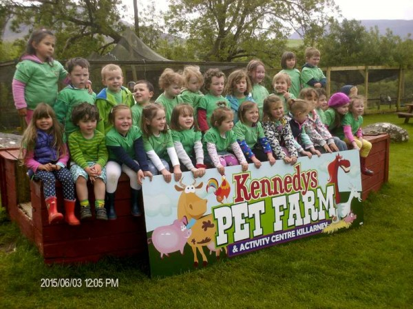Rathcoole Playschool Outing to Kennedy's Pet Farm and also the recent Open Day at the Playschool.  We thank Maura Foley for the images.  Click on the images to enlarge.  (S.R.)