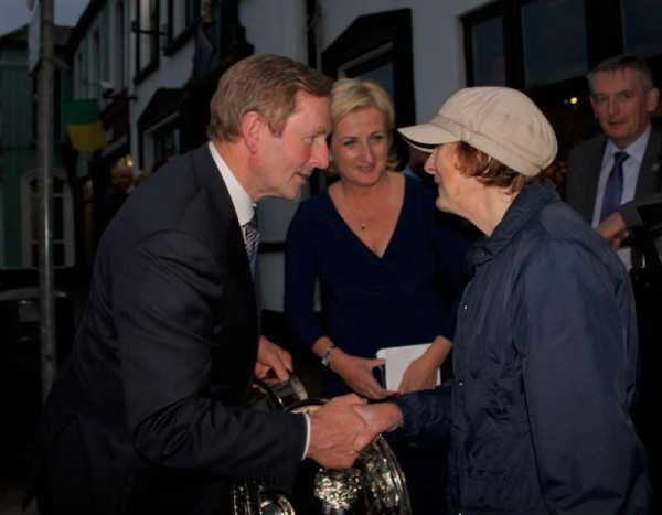 3Taoiseach Enda Kenny in Millstreet 12th June '15 -800