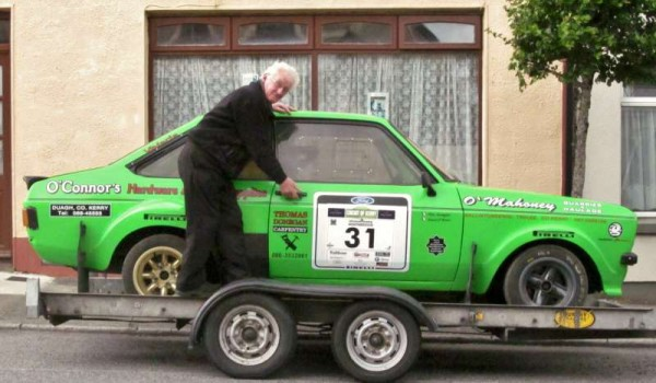 The Rally Car, Brendan, is fro another circuit!