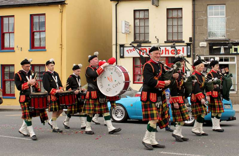 Pipe Band at Corpus Christi Procession 2015