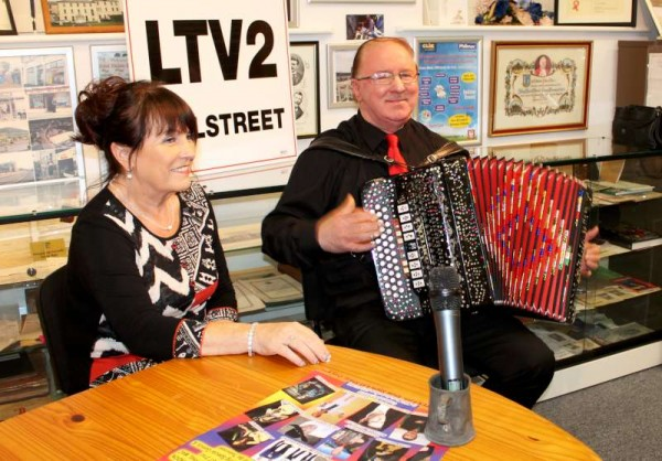 "Catríona O'Donovan of ""Love me when you are old"" fame and accordionist Michael Buckley from Upton recorded last evening at Millstreet Museum and who will feature on tonight's programme at 9:45."