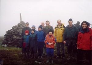 2002-12-25 Mushera Christmas Climb 1