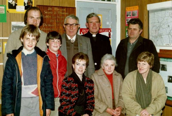 Millstreet Museum was officially opened by Pádraig Ó Maidín on 17th March 1980. Here we view some of our dedicated committee members and supporters in the 1980s. Click on the images to enlarge. (S.R.)
