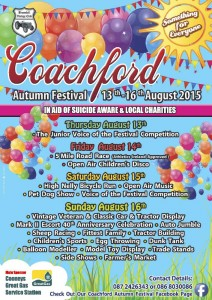 2015-08-11 Coachford Festival - Poster