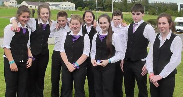 2015-08-16 Crossfields Céili Band - 3rd in the U15s at Fleadh Cheoil na hÉireann in Sligo