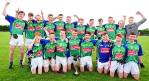 2015-08-22 U15 North Cork A Champions - Duarigle Gaels after beating Charleville by 3-12 to 3-5