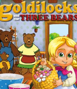 2015-08-23 Goldilocks and the three bears - briery gap poster