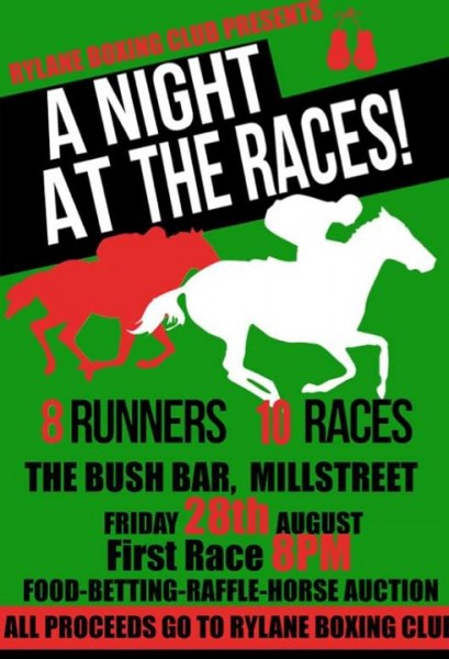 2015-08-28 Night at the Races - Bush Bar - poster