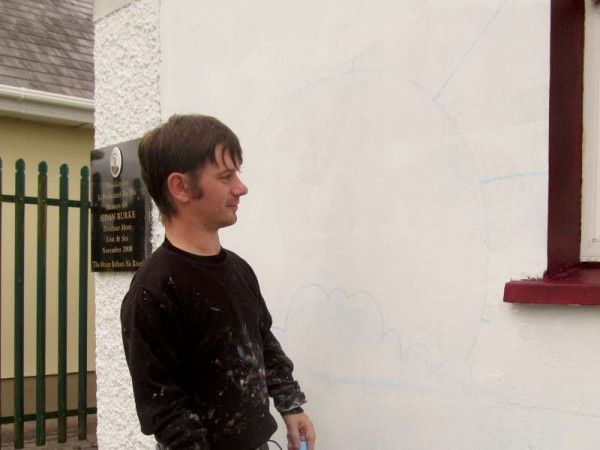 20Brian O'Leary's new Mural for Aidan - August 2015 -800