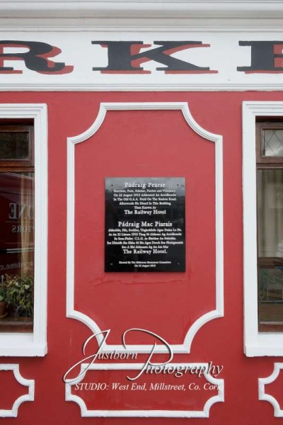 2Pádraig Pearse plaque by Justin Black Photography 2015 -800