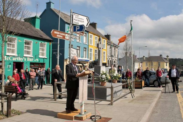 It was Jerry Lehane who on Sunday 5th April 2015 delivered the magnificent keynote address at the Easter Commemoration at the Square in which he shared such a marvellous insight into the visit of the famous Pádraig Pearse to Millstreet on 22nd August 2015.