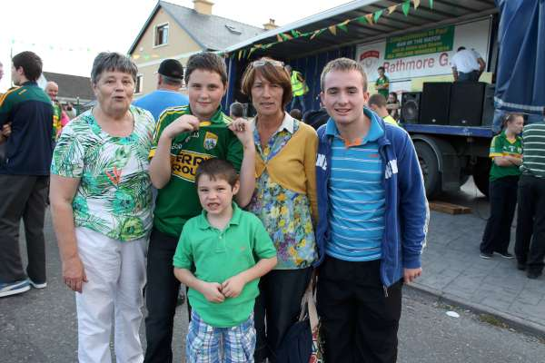 10Kerry Football Team Homecoming in Rathmore 2014 -600