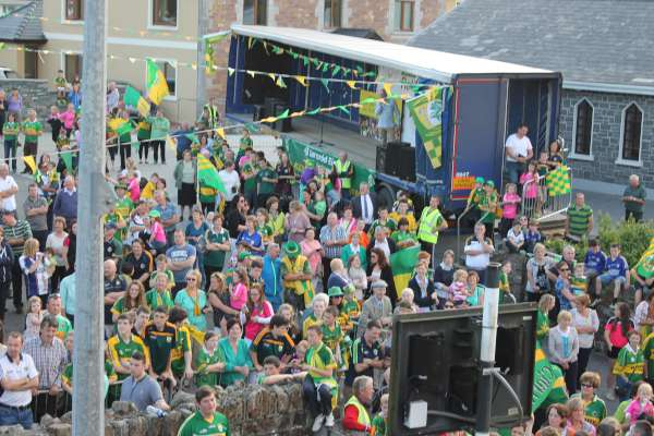 16Kerry Football Team Homecoming in Rathmore 2014 -600