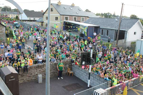 17Kerry Football Team Homecoming in Rathmore 2014 -600