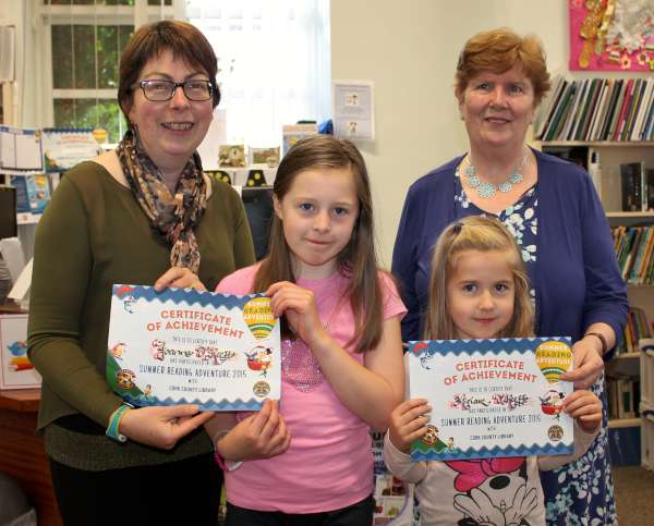 1Certificate Presentation of Summer Reading at Library 2015 -600
