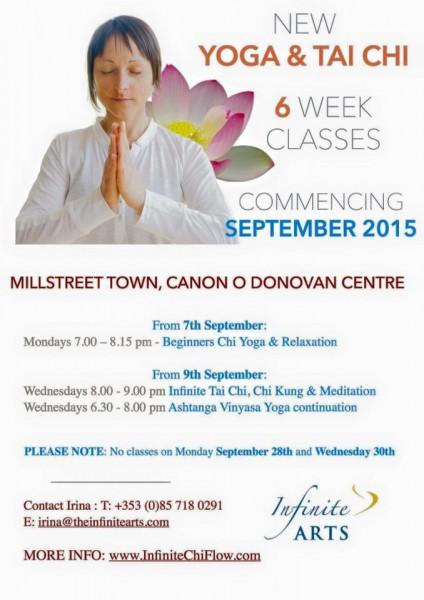 2015-09-07 Yoga and Thai Chi - poster